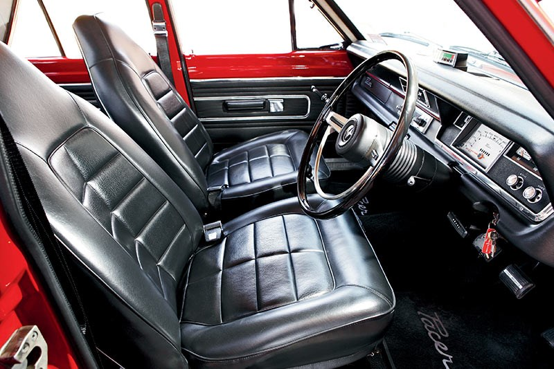 valiant pacer interior