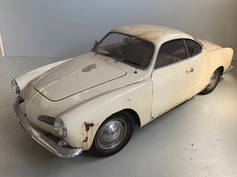 Adelaide Auto Expo Barn Find Auction Karmann Ghia