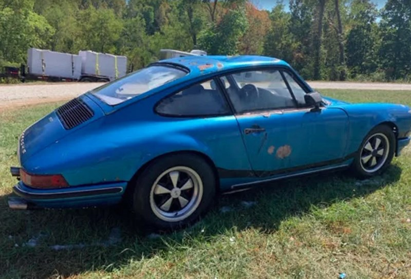 Barn find 911 home 2