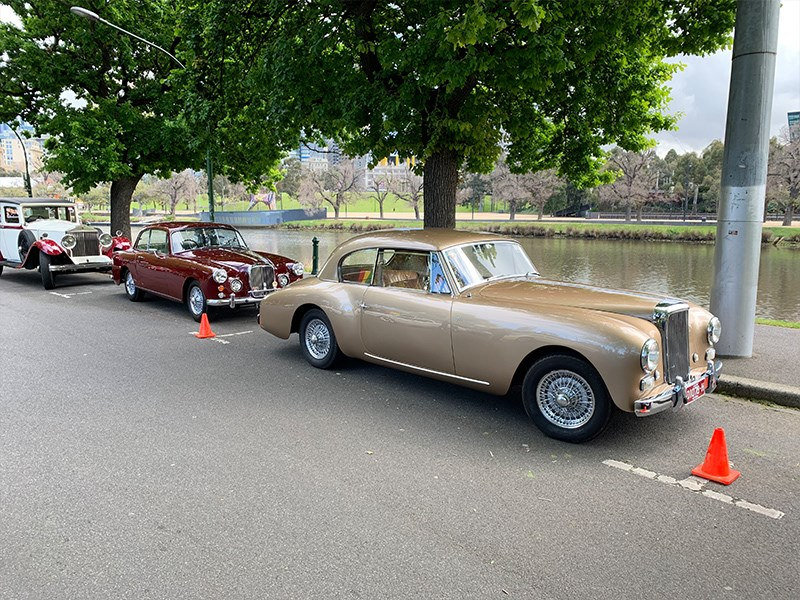MotorClassica Tour Alvis possibly