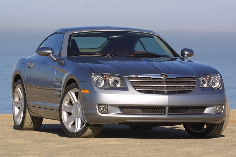 chrysler crossfire coupe 2
