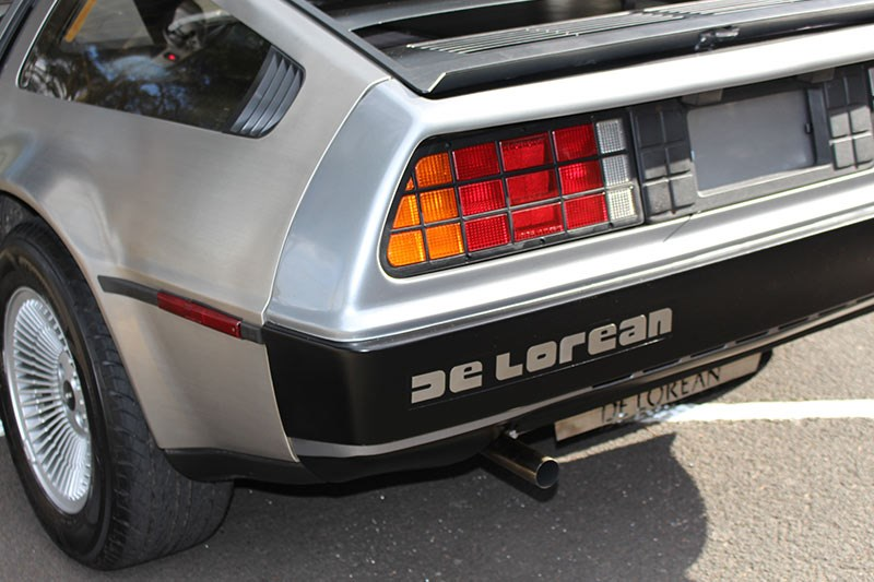 delorean tail light