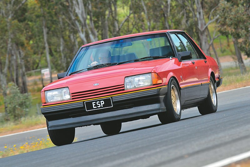 ford fairmont xe onroad front