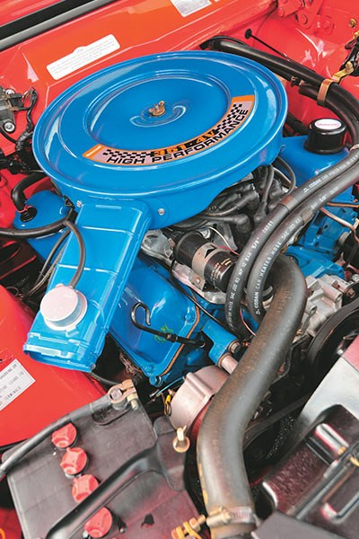 ford falcon xa gt engine bay 2