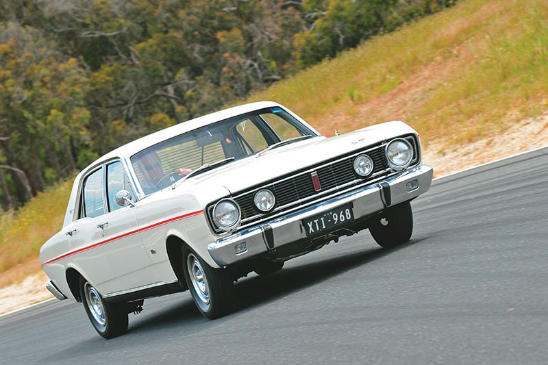 ford falcon xt gt front