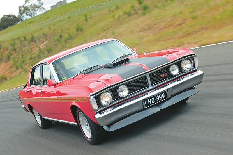 ford falcon xy gtho onroad front