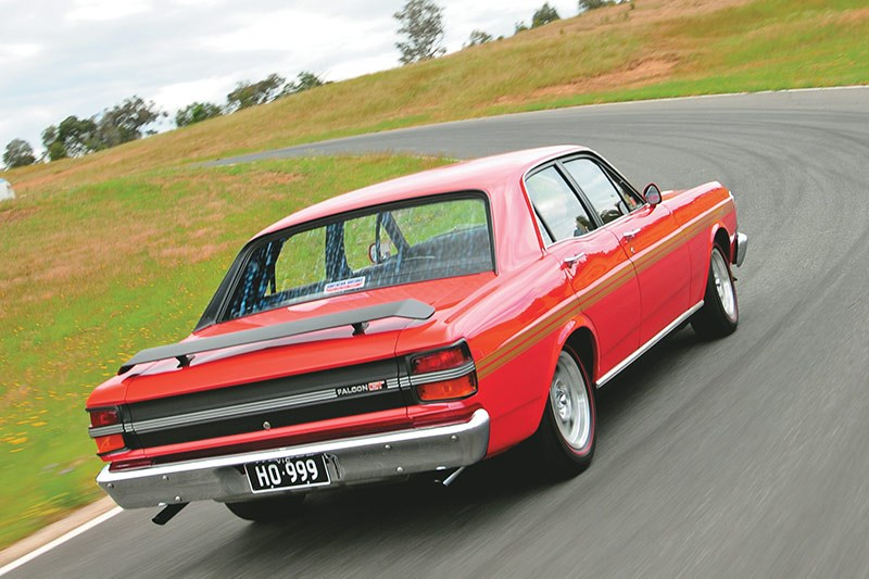 ford falcon xy gtho onroad
