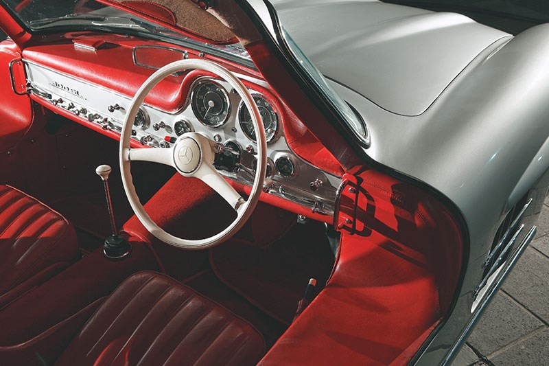 mercedes benz 300sl dash