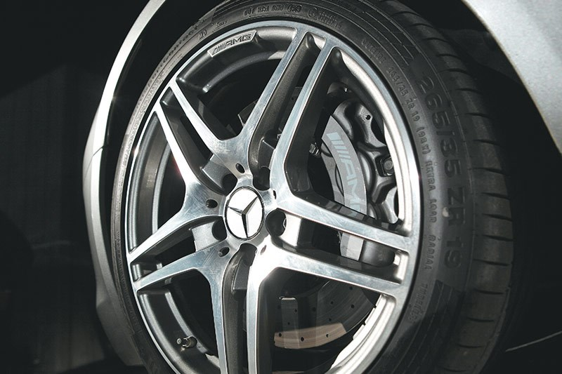 mercedes benz sls amg wheel