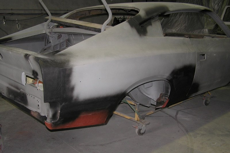 valiant charger e49 body repairs 6