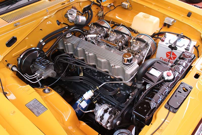 valiant charger e49 engine bay