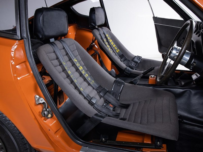 Datsun Z432R for auction interior seats