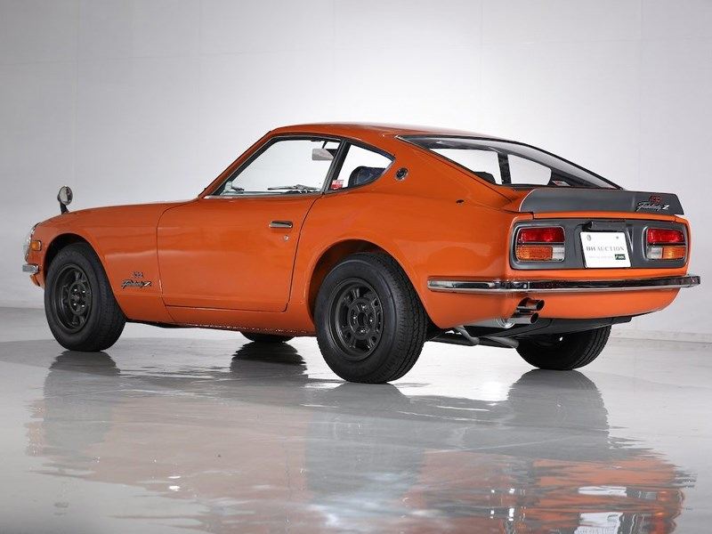 Datsun Z432R for auction rear side