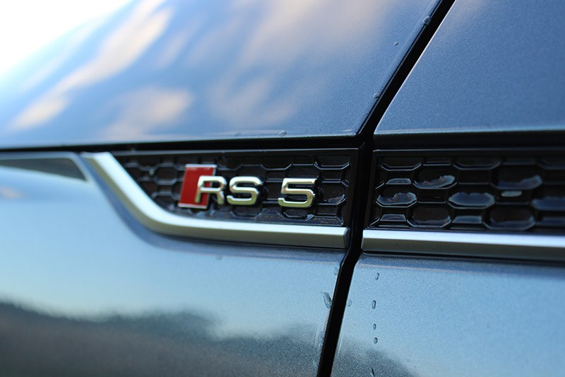 audi rs5 badge