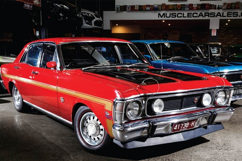 ford falcon gtho phase i