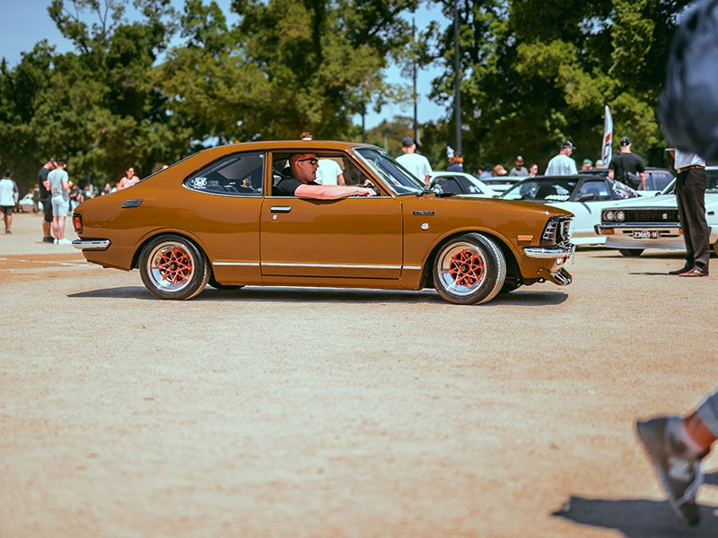 Classic Japan coupe brown