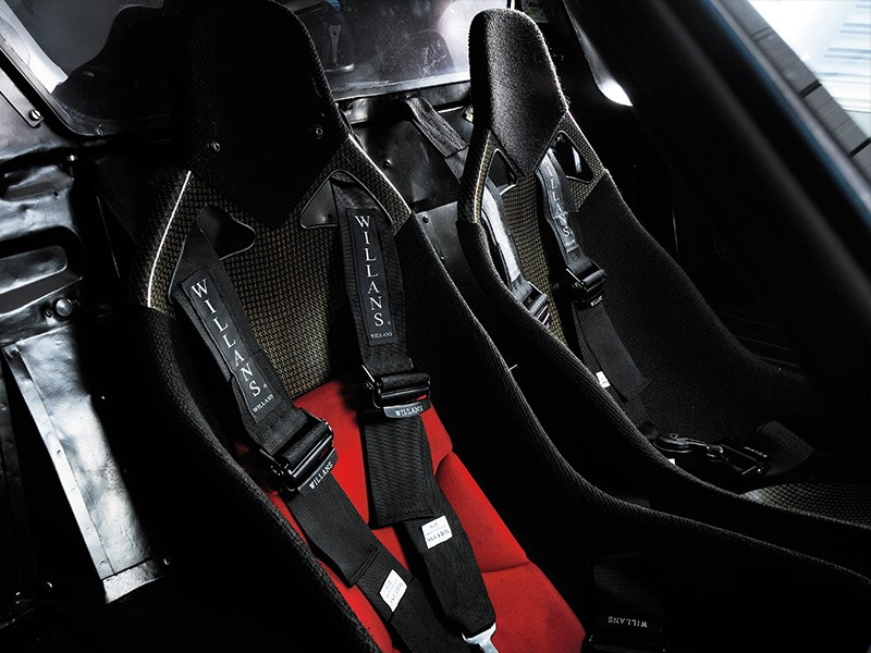 Ford GT40 interior seats
