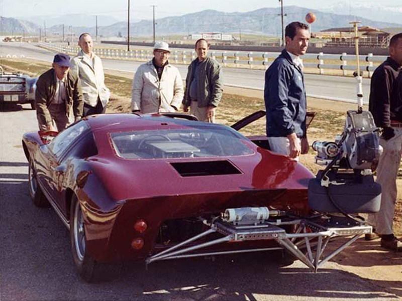 Ford GT40 wilson grand prix filming