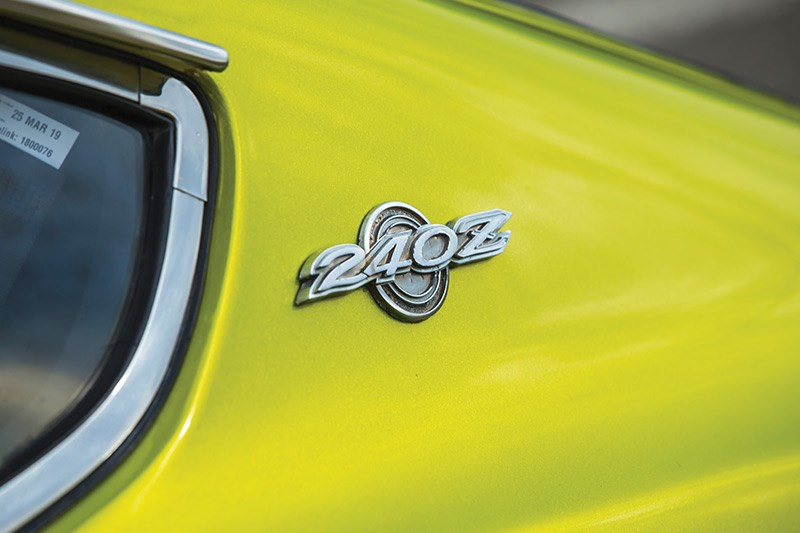 datsun 240z badge