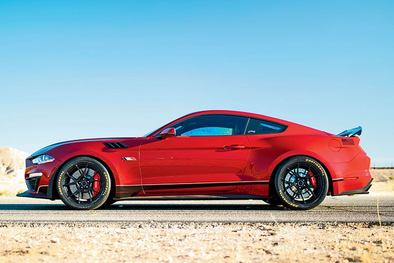 ford mustang roush side