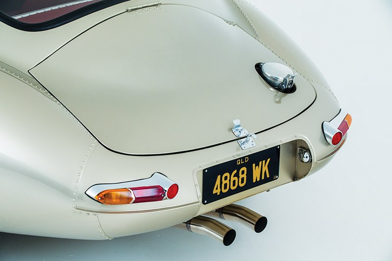 jaguar etype lightweight rear