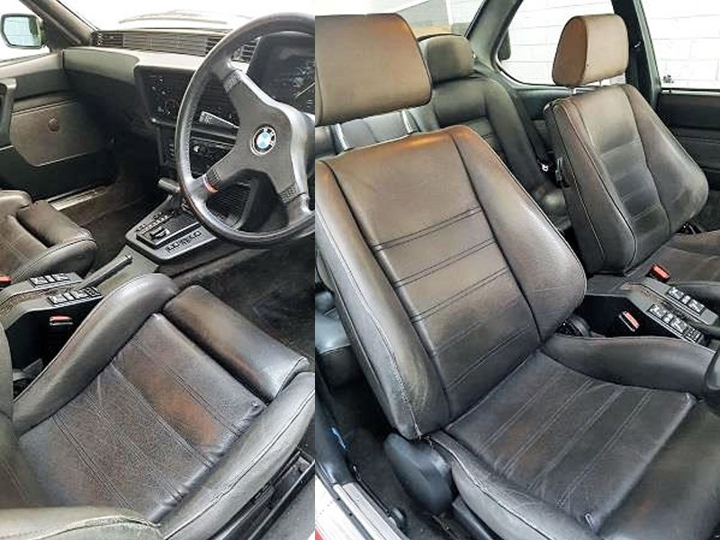 BMW e24 635csi interior