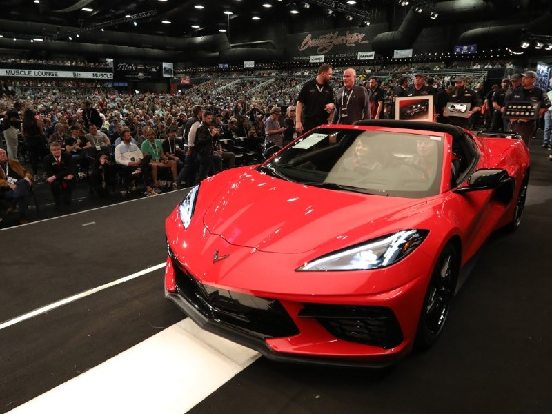 First Corvette fetches 3 million cover