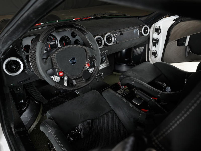 New Stratos interior