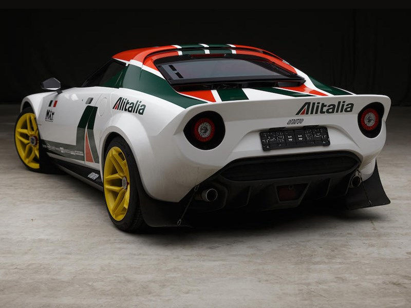 New Stratos rear side