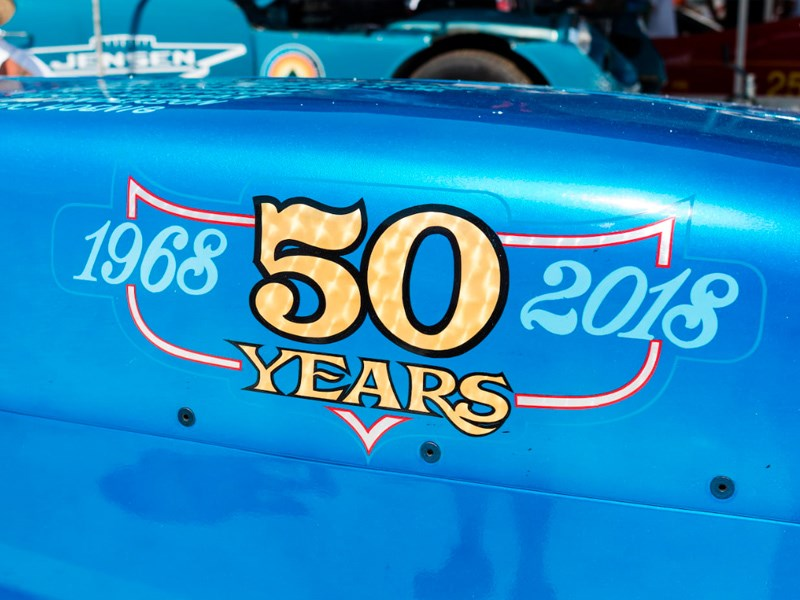 Thompson s LSR car 50 years