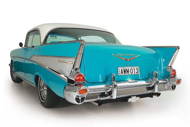 chev bel air rear