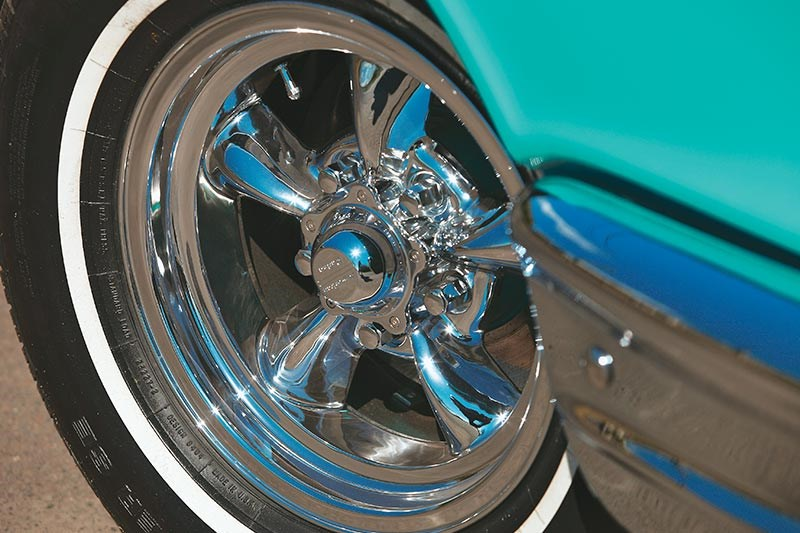chev bel air wheel