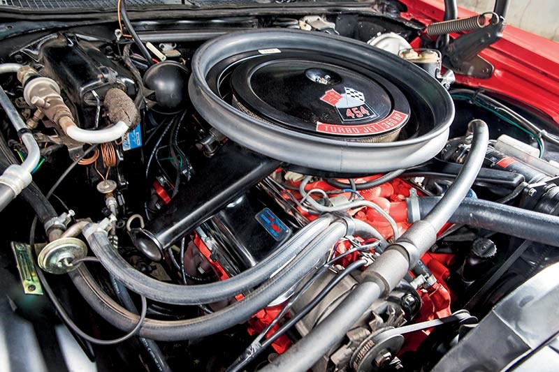 chevelle ss engine bay