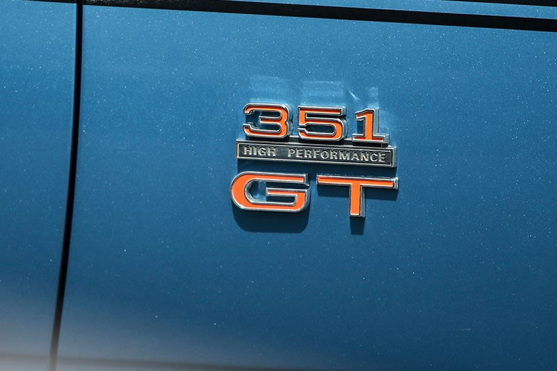 falcon xw gt badge
