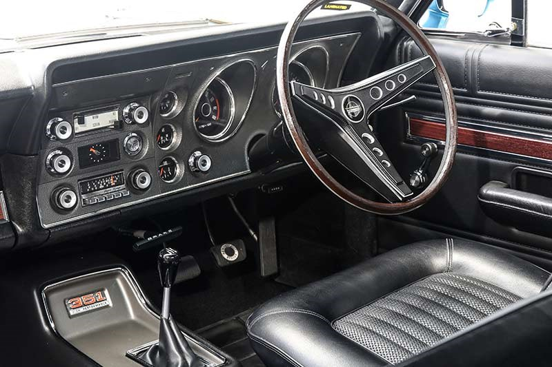 falcon xw gt interior