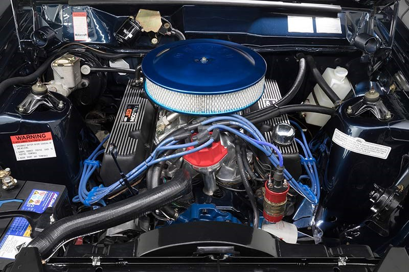 ford falcon xa gt engine bay 3