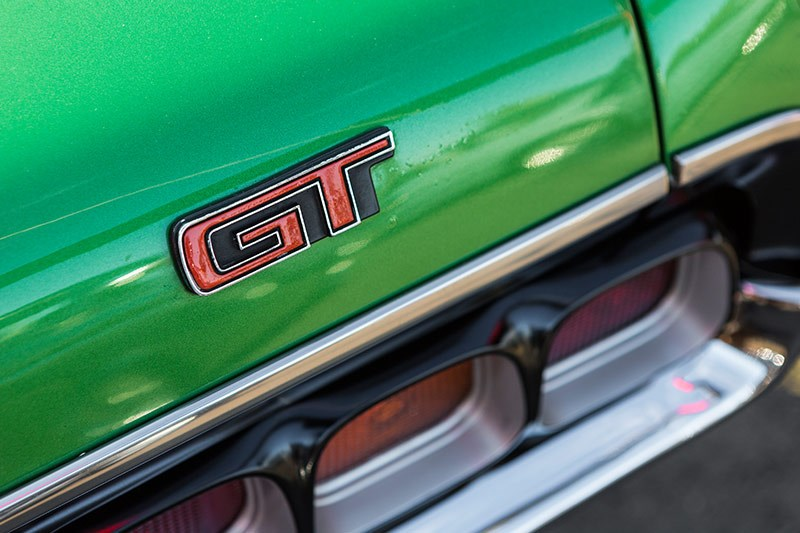 ford falcon xa gt phase iv badge