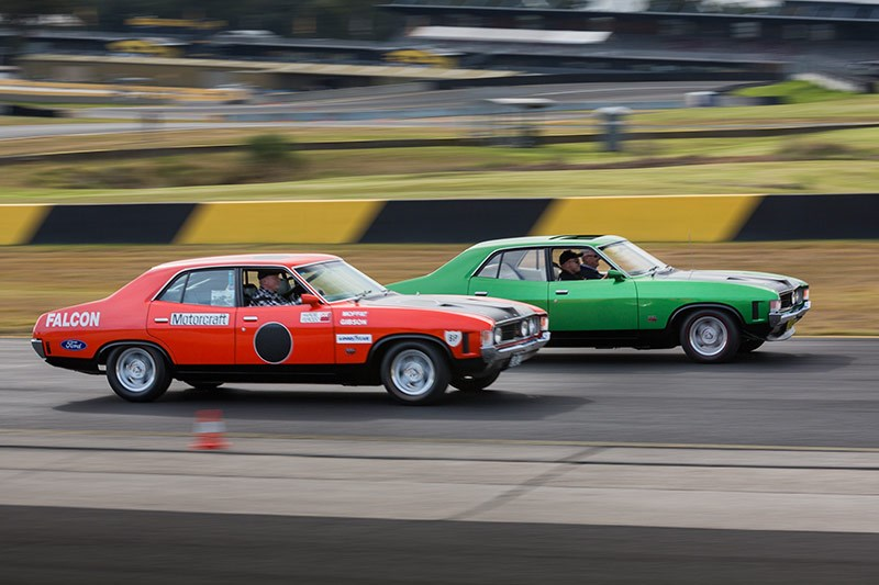 ford falcon xa gt phase iv on track 2