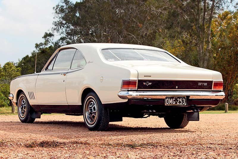 holden hg monaro gts rear