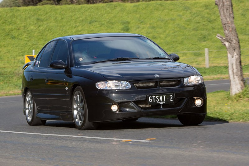 hsv gts 300 on road