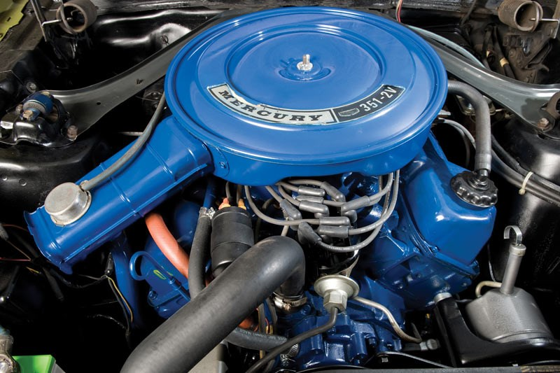 mercury cougar engine