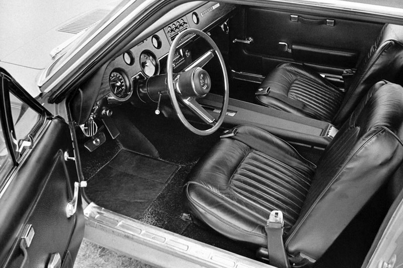 mercury cougar interior