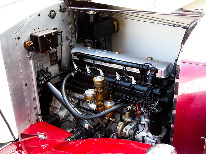 1927 Rolls Royce Lorbek engine