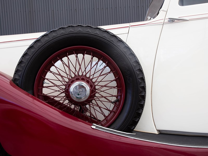 1927 Rolls Royce Lorbek side wheel