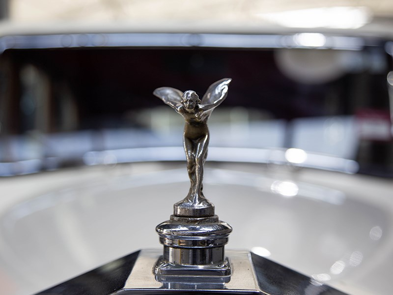 1927 Rolls Royce Lorbek spirit of ecstacy