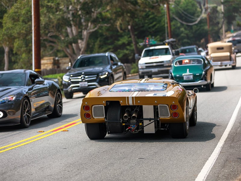 Carmel clamps down GT40