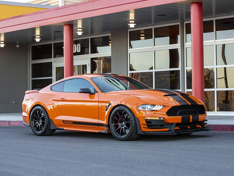 Shelby Signature Stang front side static
