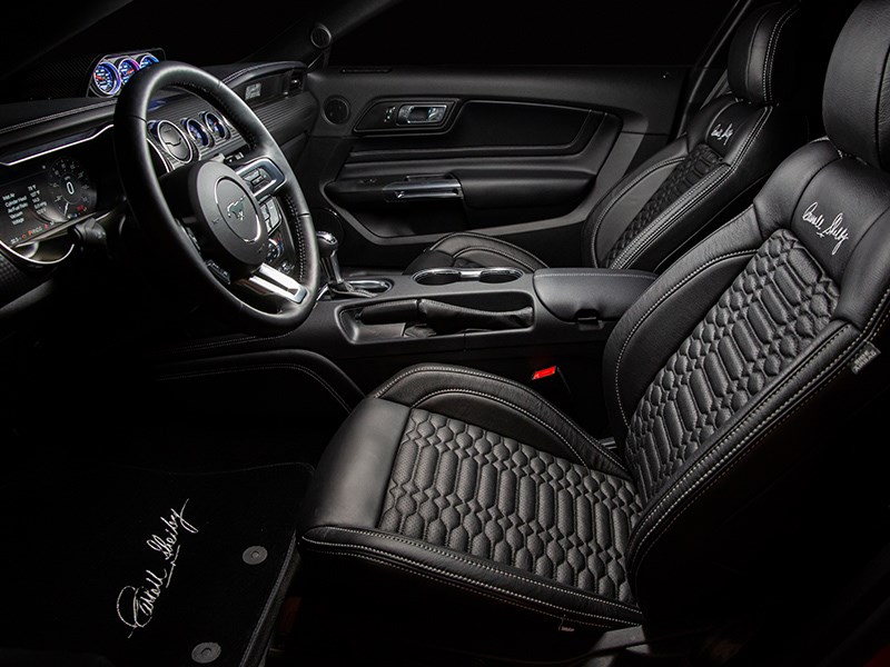 Shelby Signature Stang interior