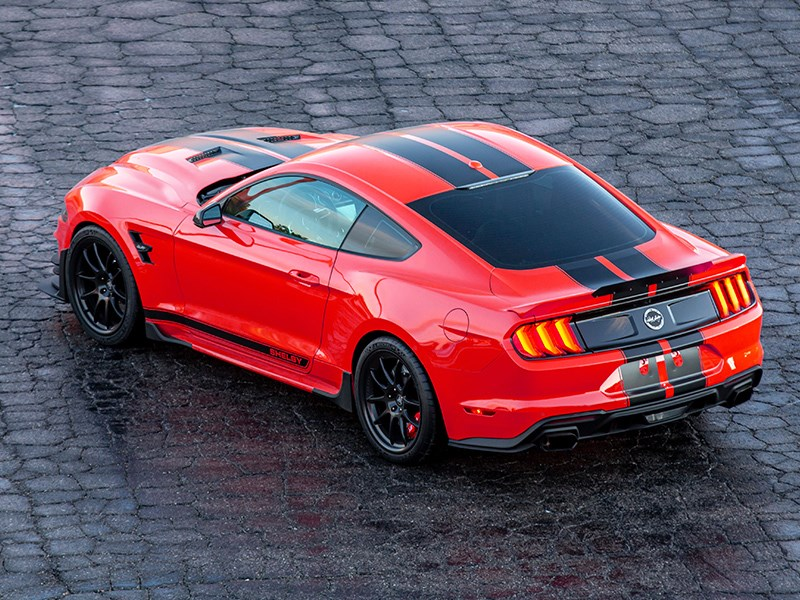 Shelby Signature Stang rear side