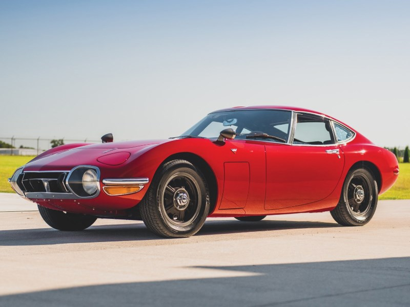 Toyota 2000GT for auction front side